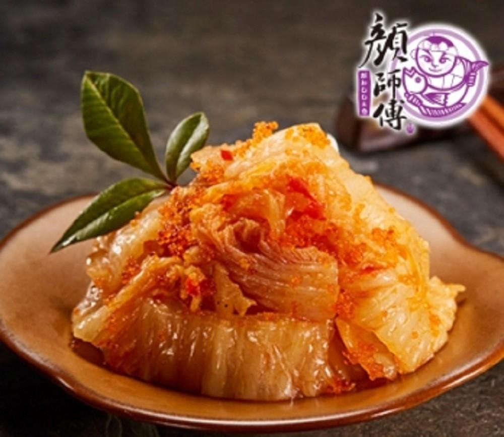 【臻美蔬果】飛魚卵泡菜(250g)團購免運組