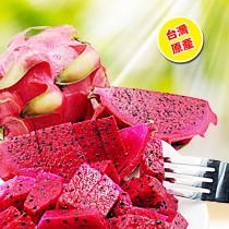 【臻美蔬果】紅龍果